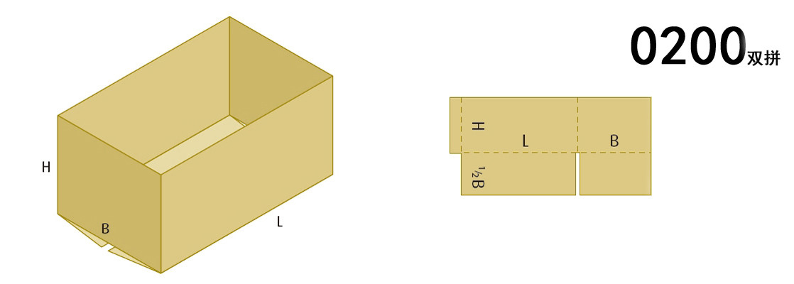 Box Styles for box making machine