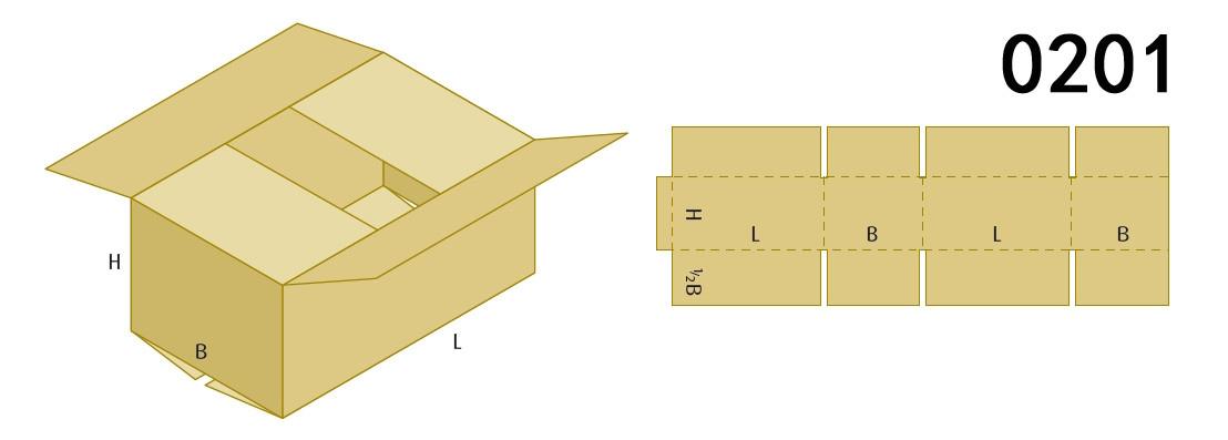 Box Styles for box making machine