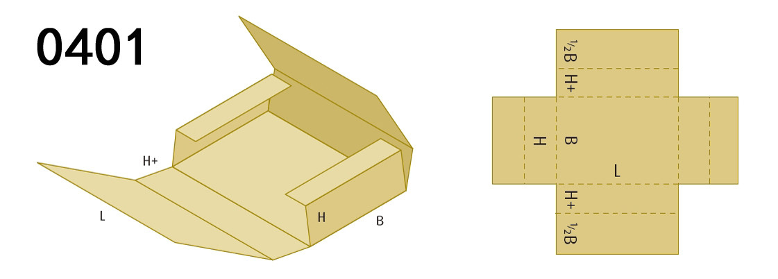 Box Styles for carton box machine