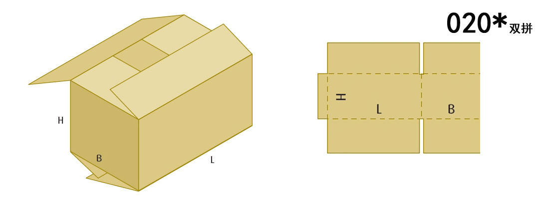 box-modle for carton box machine