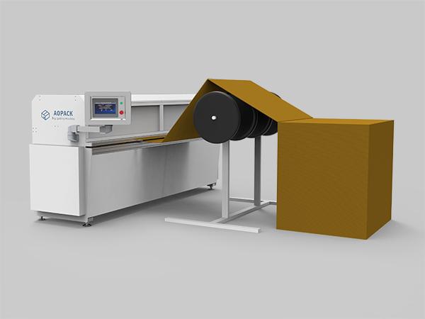 Fanfold Cardboard Box Machine
