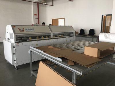 China box making machine project