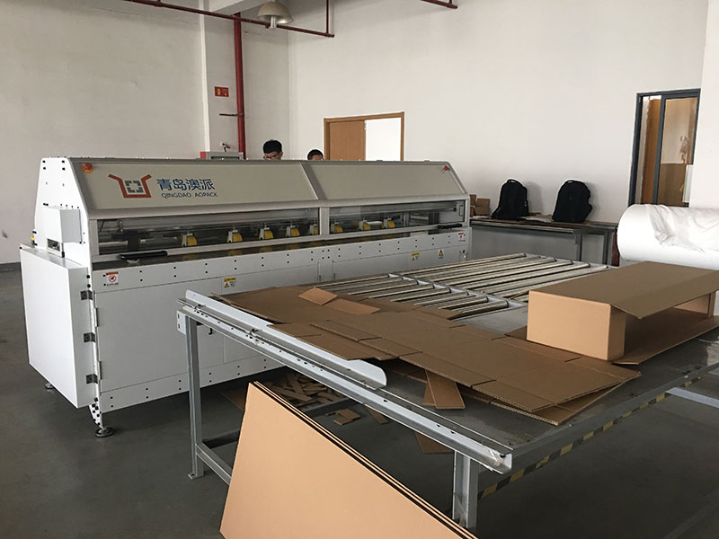 China box making machine project