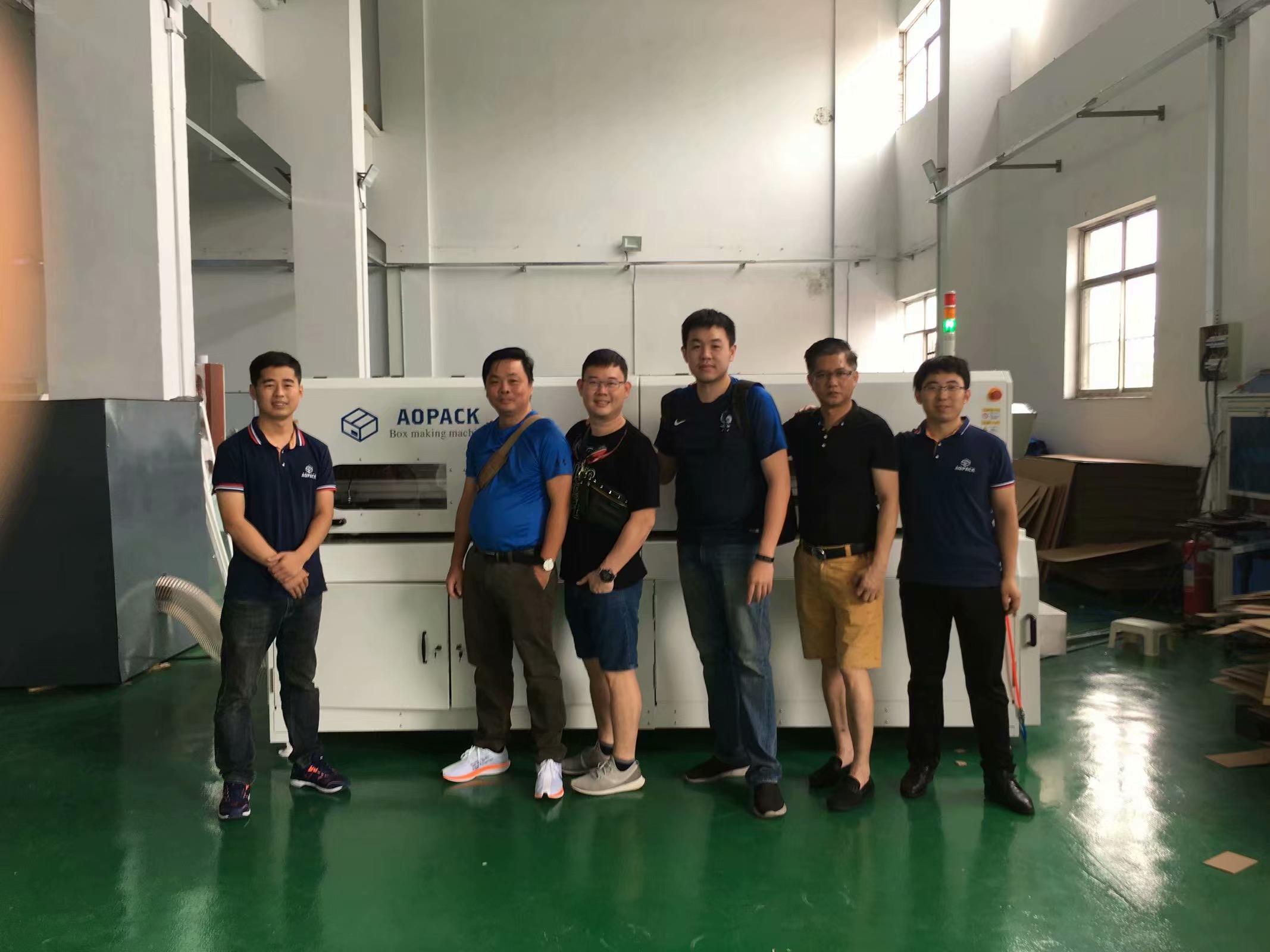 Malaysia carton box machine
