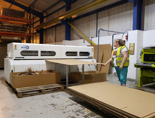 Our First BM2508 Cardboard box Making Machine in UK