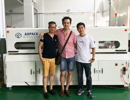 BM2508 Short run box making machine in Malaysia