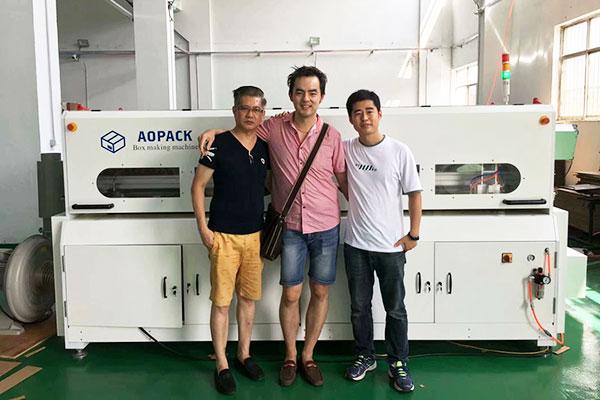 BM2508 Short run box making machine in Malaysia
